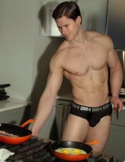 model Matt Waters photogrpahed by Marco Ovando for Garçon Model underwear 1