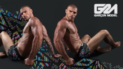 Garcon Model Men Underwear Galaxy Collection 3
