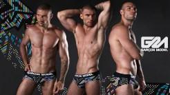 Garcon Model Men Underwear Galaxy Collection 9