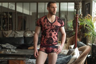 L Homme Invisible underwear - Velours Mystique lace underwear 01