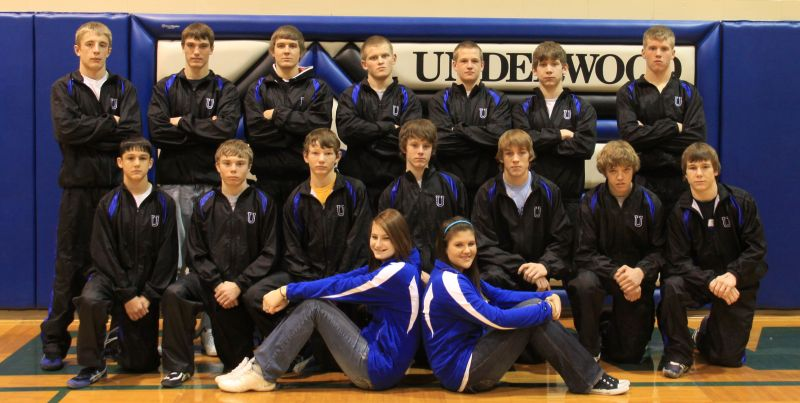 Underwood Community Schools Eagle Wrestlers Win Sectional Tournament