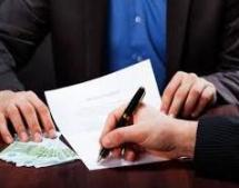 signing a business loan