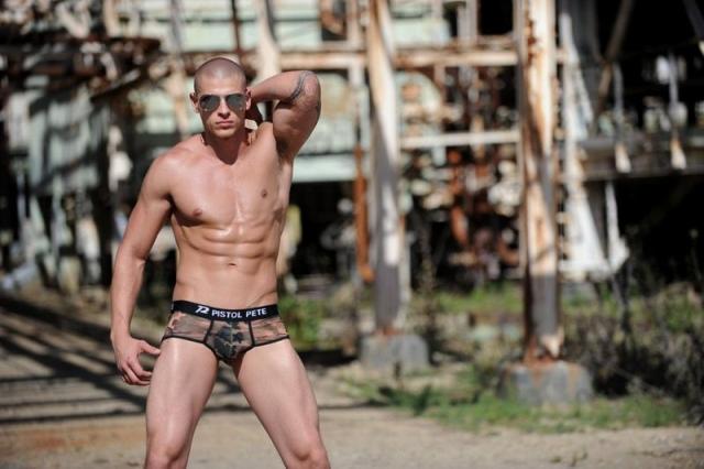 Men's camo underwear