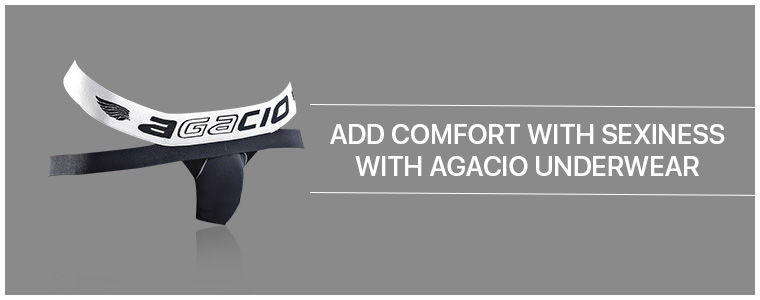 Add comfort with sexiness with Agacio Underwear