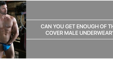 Can you get enough of this Cover Male Underwear?