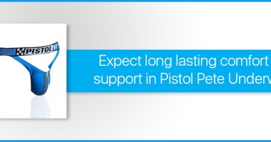 Expect long lasting comfort and support in Pistol Pete Underwear