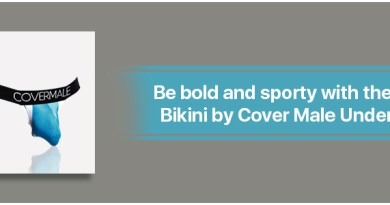 Be bold and sporty with the Mens Bikini by Cover Male Underwear