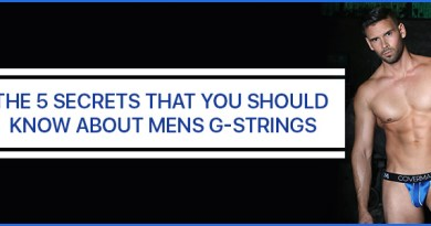 The 5 Secrets that you should know about Mens G-Strings
