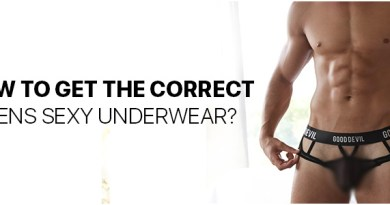 How to get the correct Mens Sexy Underwear?