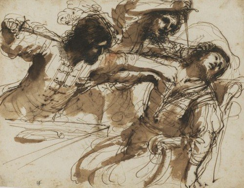 Guercino The Courtauld Institute Of Art London