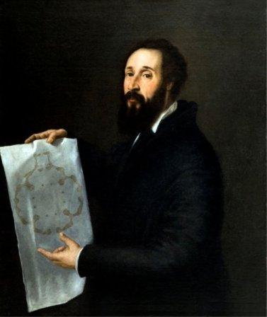 Risultati immagini per Ritratto di Giulio Romano  Tiziano Vecellio