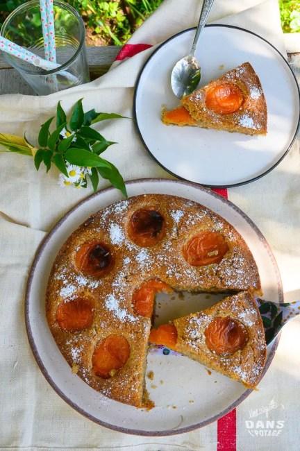 gâteau moelleux abricot sarrasin