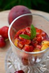 nage de fruits d'été à la verveine