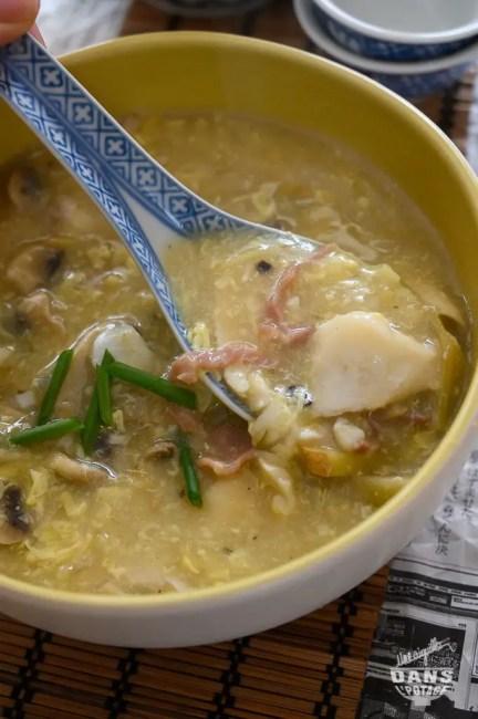 soupe chinoise aux poisson de sister Song