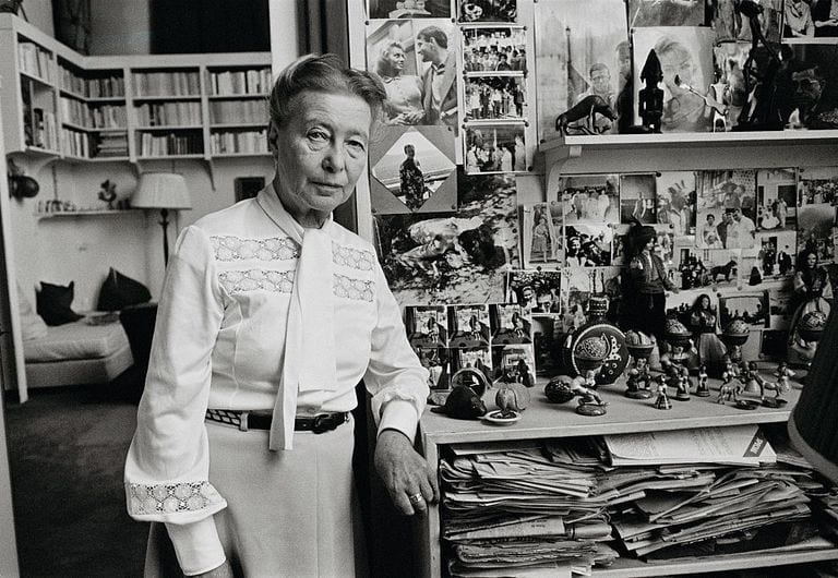 Simone de Beauvoir © | Jacques Pavlovsky/Getty Images