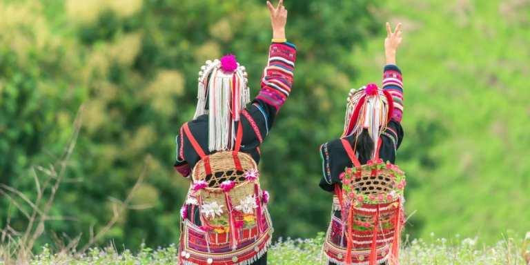 Hill tribe women in Chiang Mai, Thailand © | Daengpanya Atakorn
