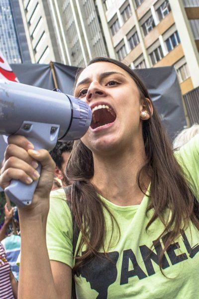 Thousands of women march through Sao Paulo, Brazil in observance of International Women's Day | © Alf Ribeiro/Shutterstock