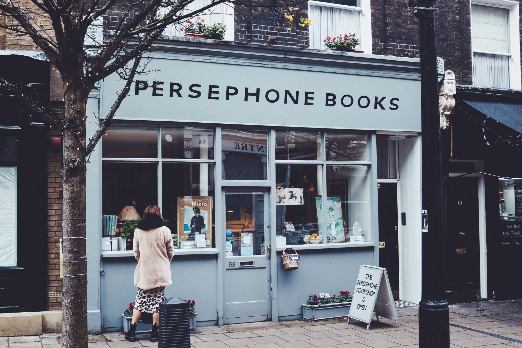 Persephone Books in London | © Alex Saint