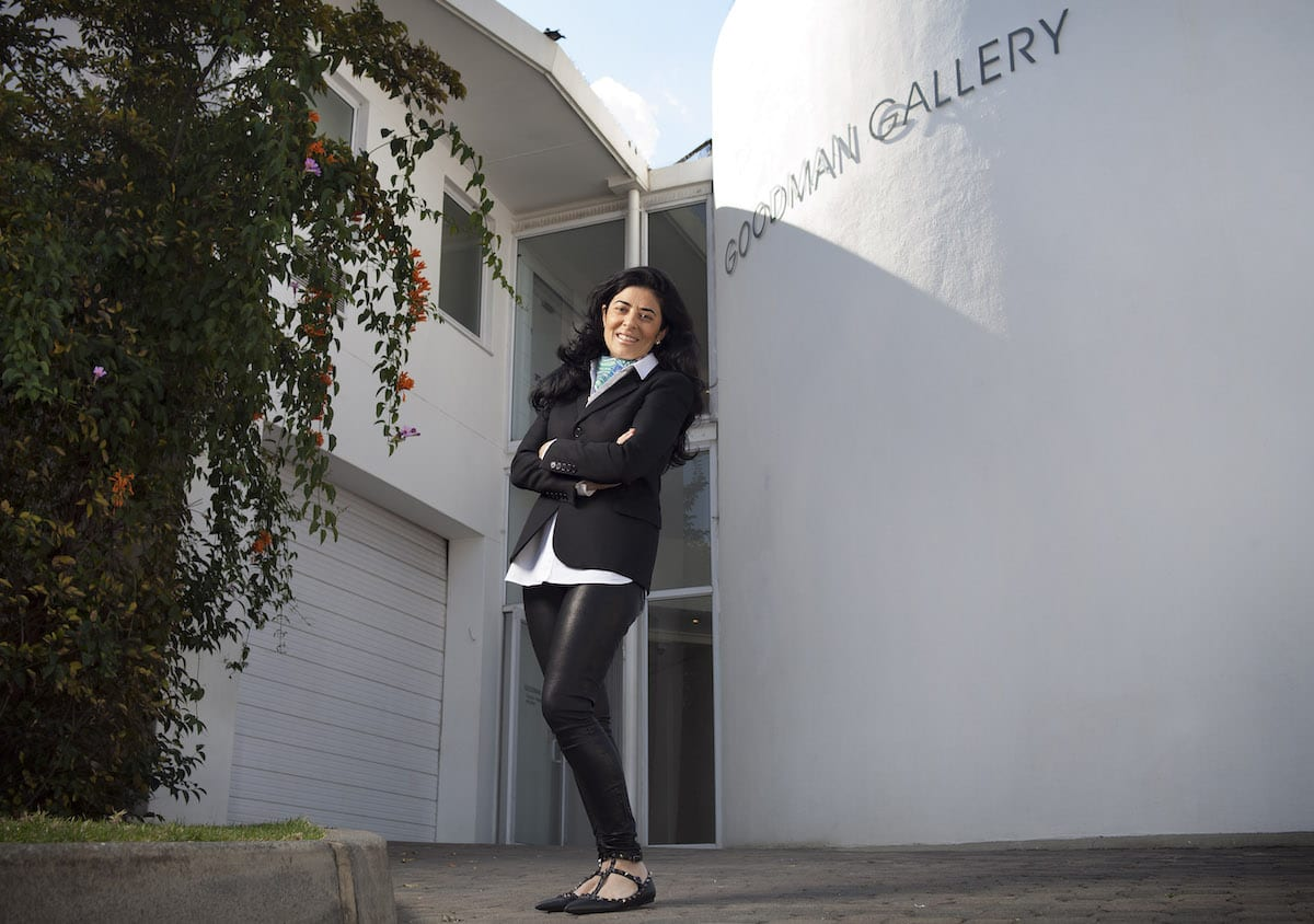 Liza Essers of the Goodman Gallery in Johannesburg | © Thys Dullaart/Courtesy of Goodman Gallery