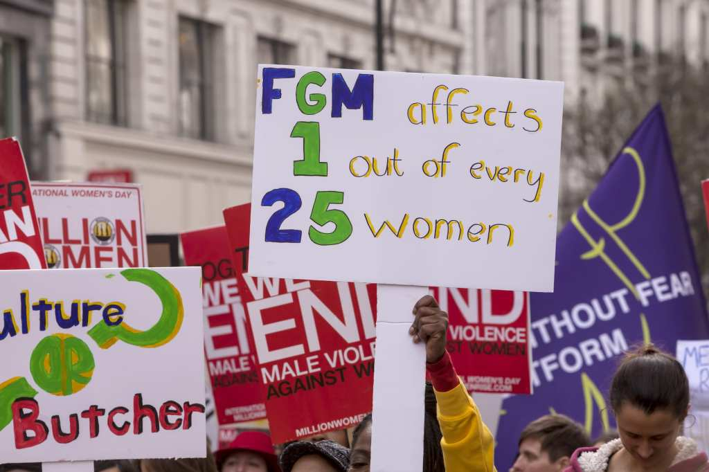 FGM protests in England | © Ms Jane Campbell/Shutterstock