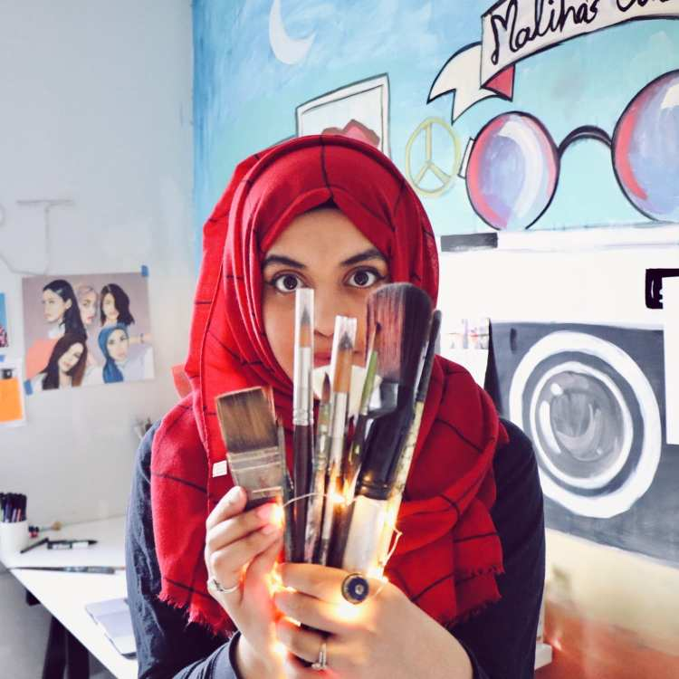 The Illustrator Championing Pakistani Women
