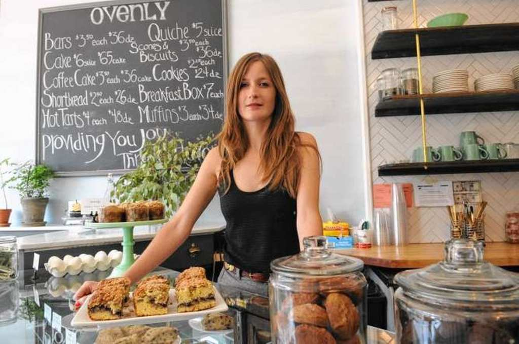 Owner Agatha Kulaga at Ovenly at Ovenly in Greenpoint, Brooklyn | © Christie M Farriella/New York Daily News