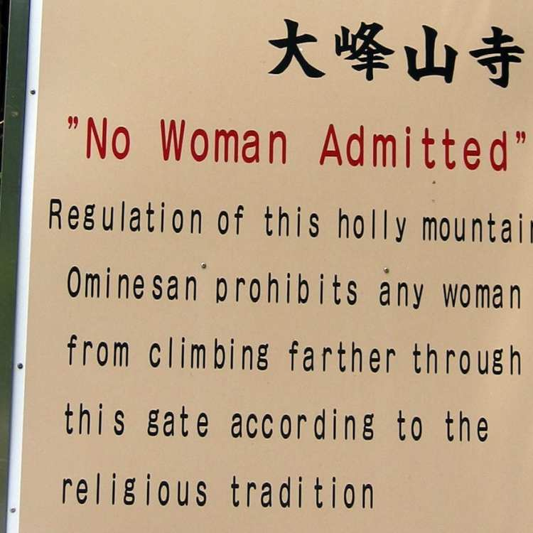 Popular Tourist Destinations that Still Ban Women