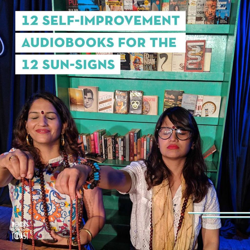 The Books on Toast team recommends self improvement books | © booksontoast/facebook