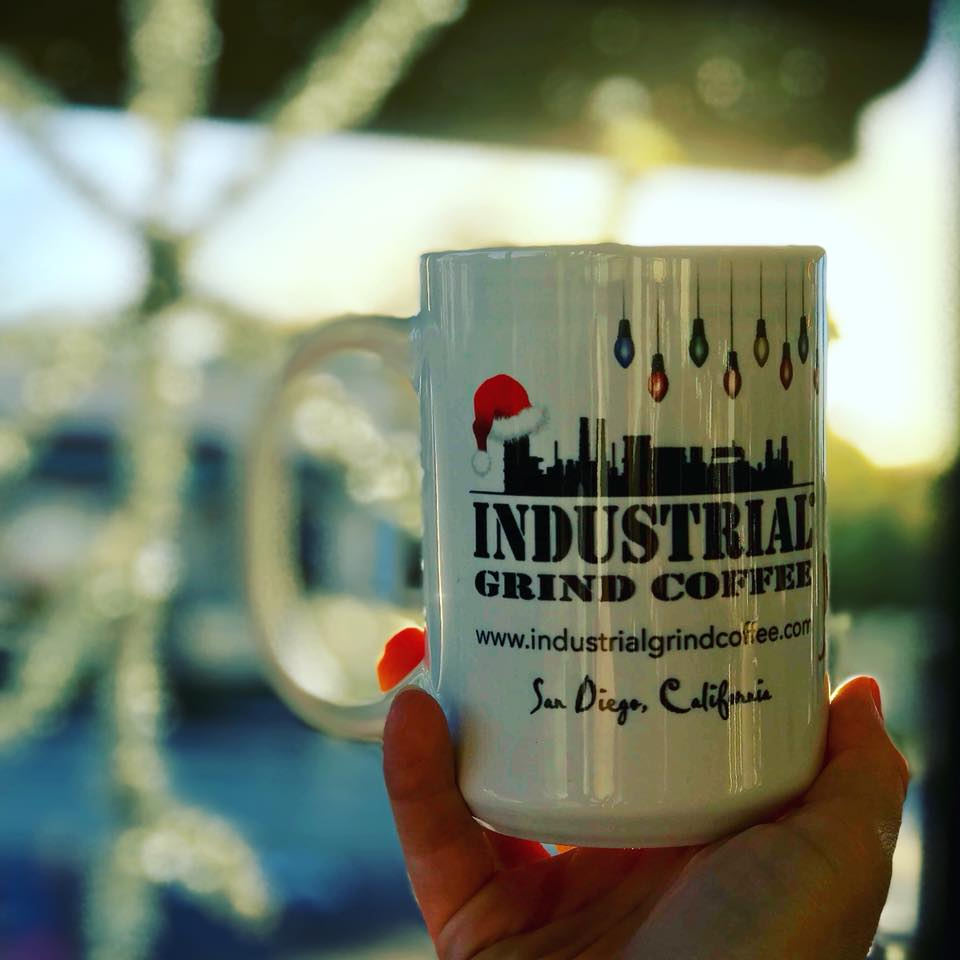 Industrial Grind mug | © industrialgrindcogffee/facebook