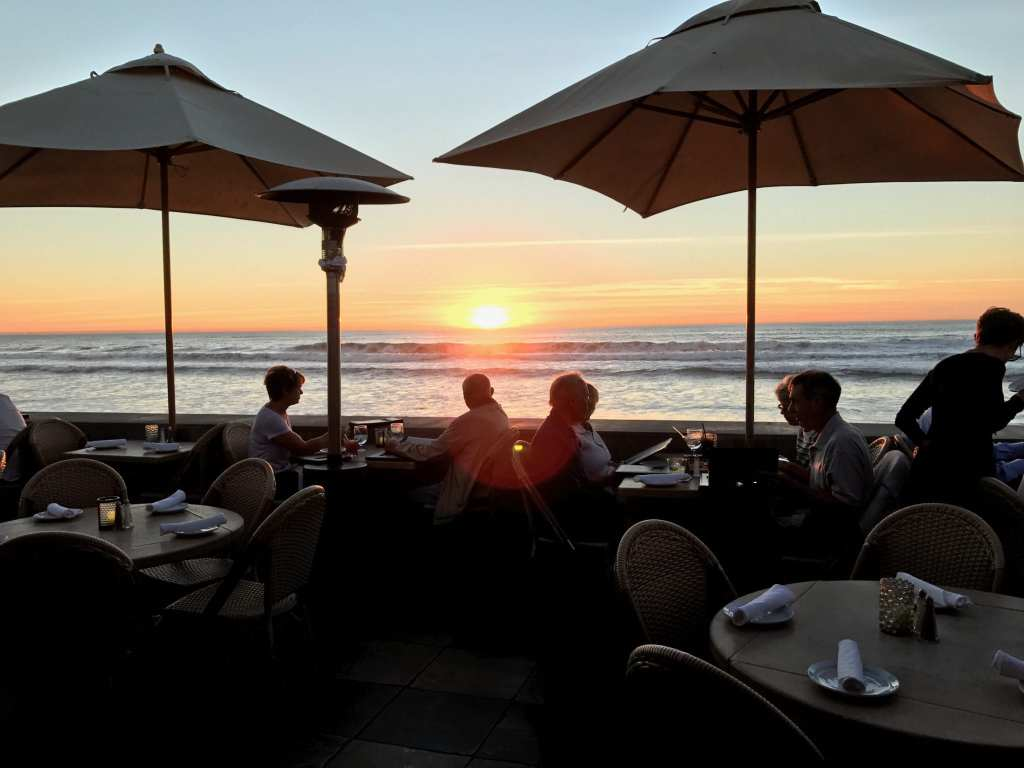 Patio with a view at Poseidon Restaurant Del Mar | © Courtesy of Poseidon Restaurant