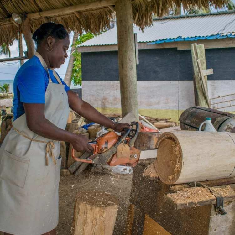 Belize's First Female Drum Maker
