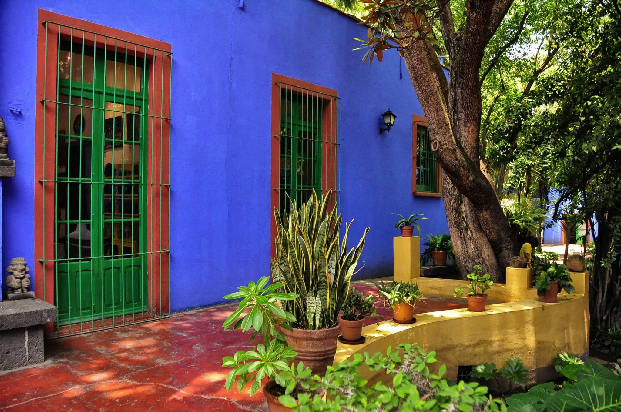 Frida Kahlo's Blue House in Mexico City | © Rod Waddington/Wikimedia