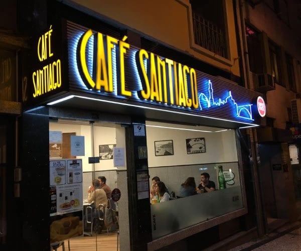 Courtesy of Café Santiago in Porto