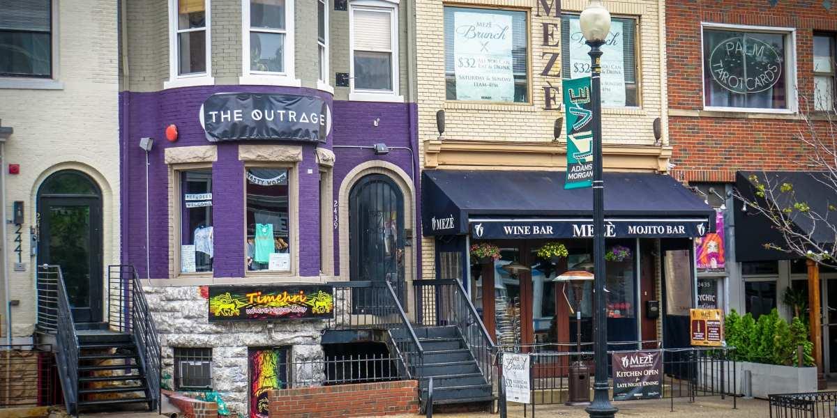 The Outrage Boutique, Adams Morgan Neighborhood, Washington, DC USA | © Ted Eytan