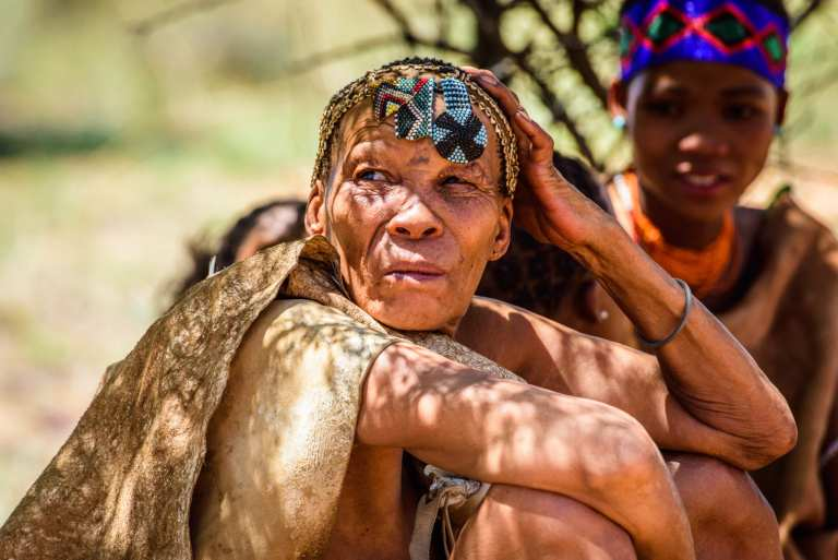 An elder woman of the San tribe in Southern Africa | © Anton Ivanov/Shutterstock