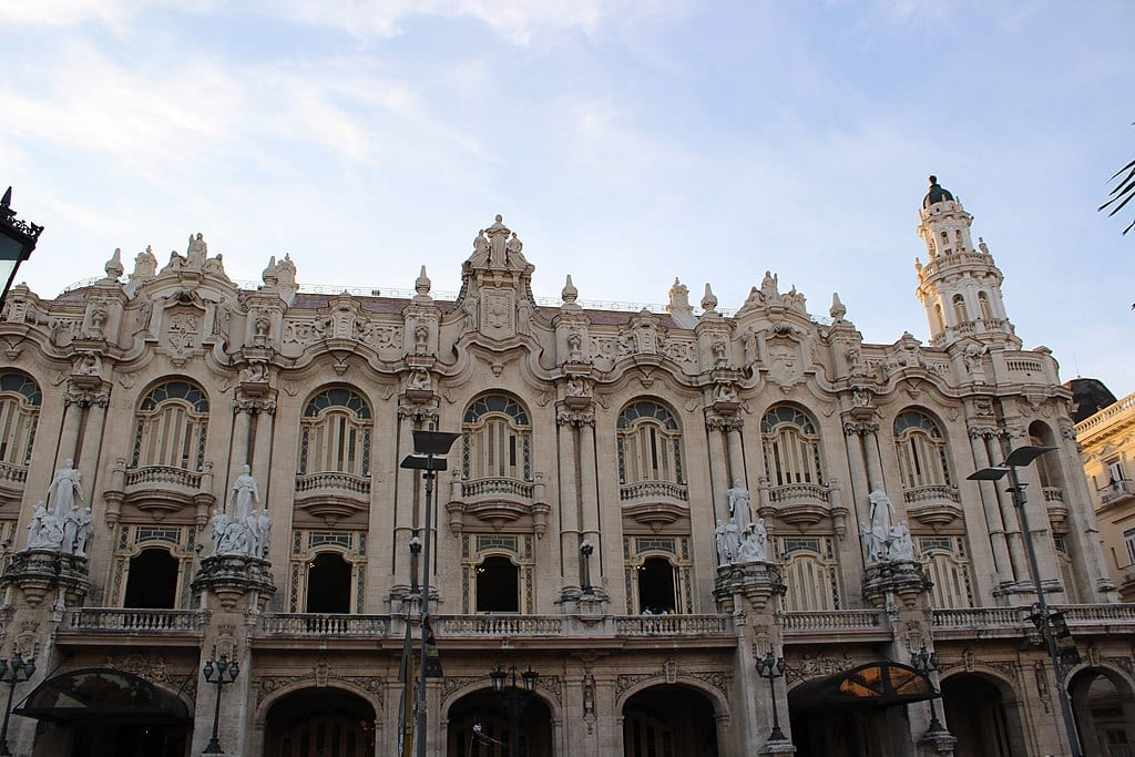 Gran Teatro de La Habana Alicia Alonso | © Knomrm/Wikipedia Commons