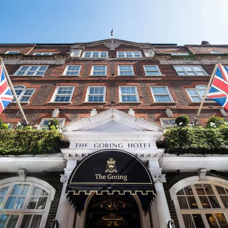 Checking into The Goring, London's Royal Hotel
