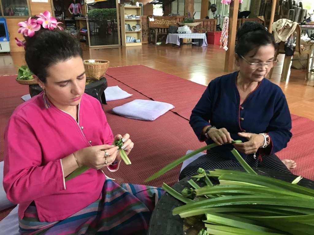 Amber Snider visits Baan Rai Kong Khing | © Courtesy of the author