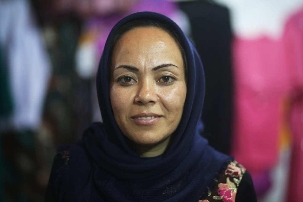 Zarin (36) is an entrepreneur in Kabul Afghanistan | © Rada Akbar/Women for Women International