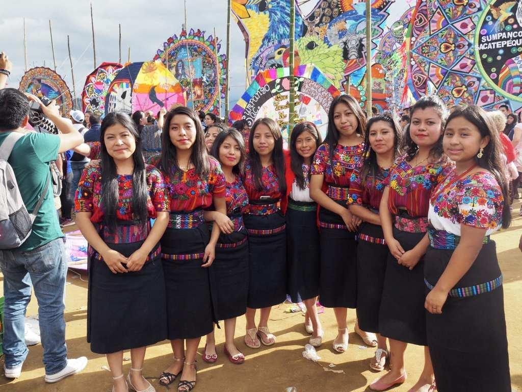 The Orquideas Oficial stand proudly at Guatemala's kite festival in Sumpango | © Nikki Vargas/Unearth Women
