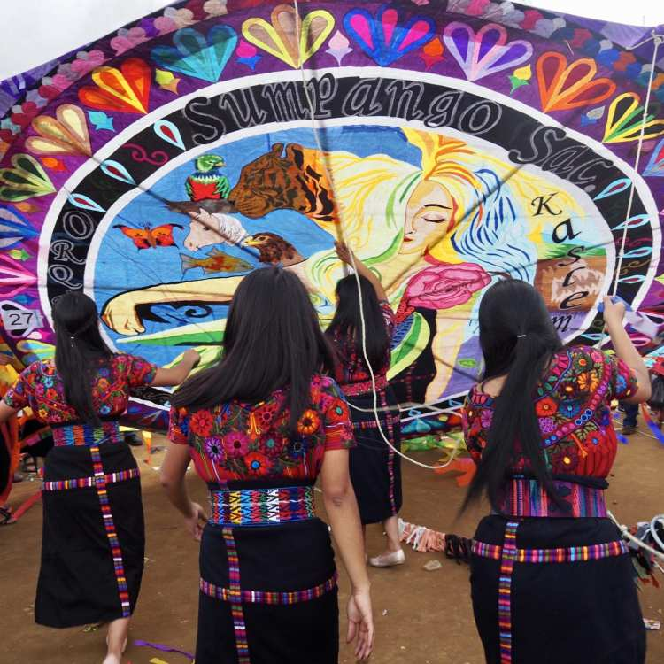 The Women of Guatemala's Kite Festival