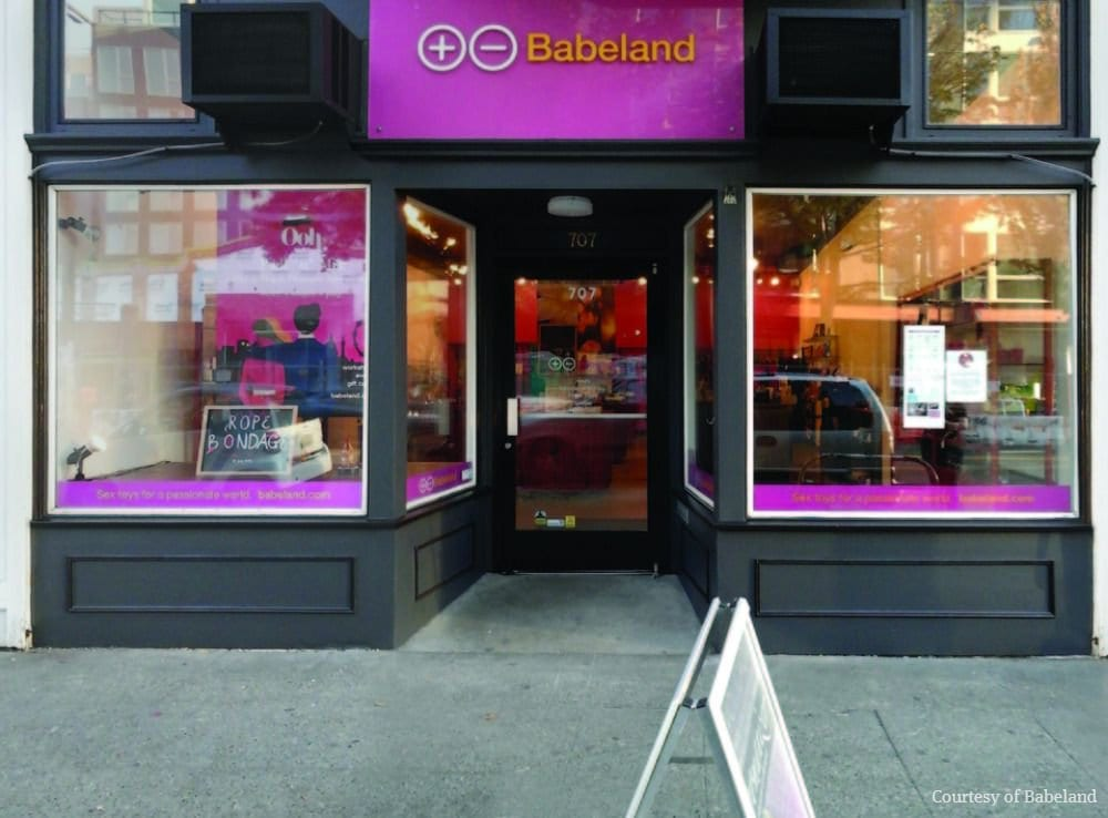 Babeland is a woman-owned sex-positive shop that offers a safe and welcoming space for women © | Babeland