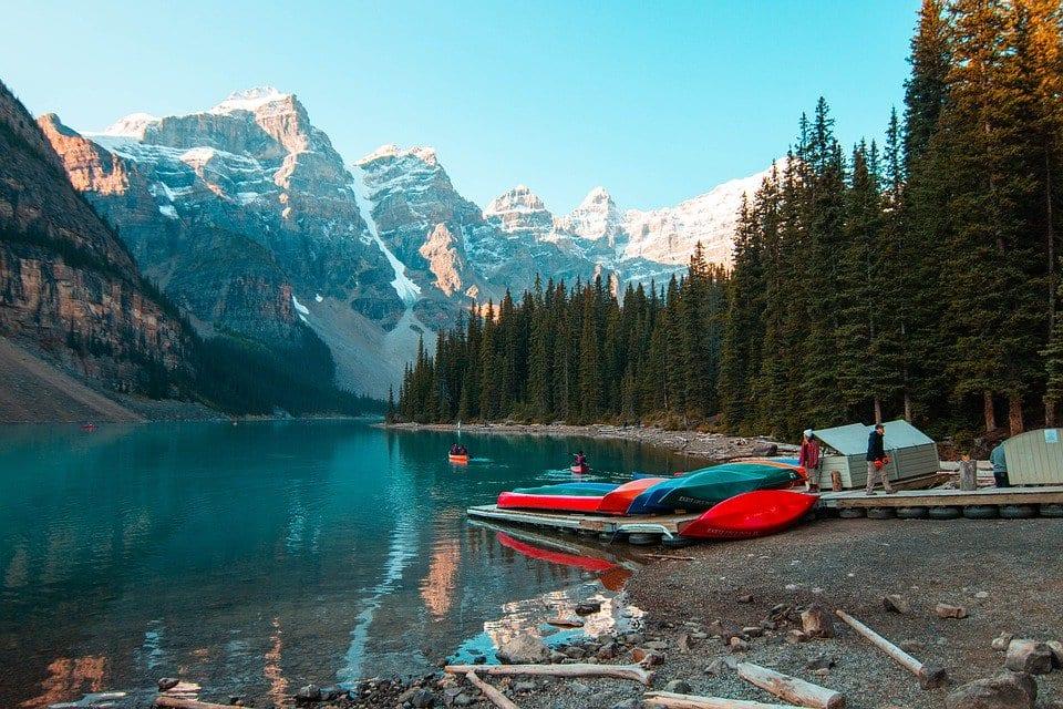 Banff in Canada | © Pixabay