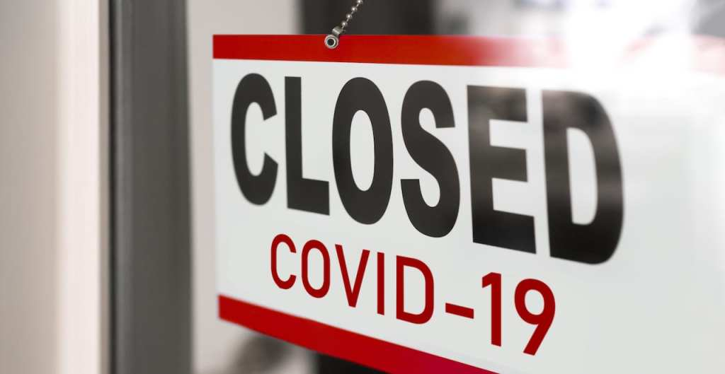 A business is closed due to Coronavirus | © Shutterstock