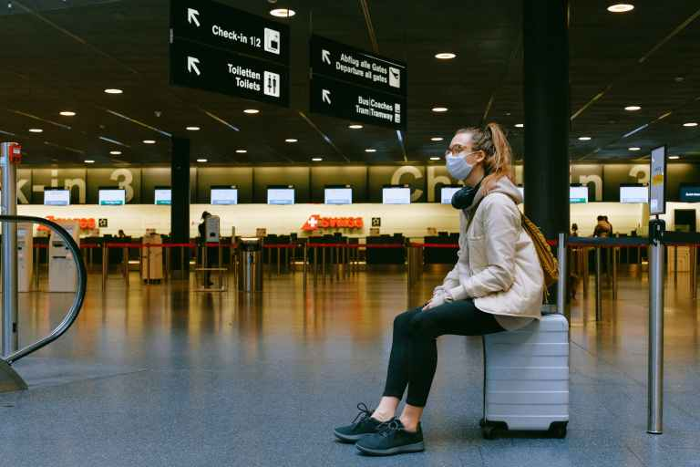 Many debate whether to travel this holiday season due to COVID © | Anna Shvets/Pexels