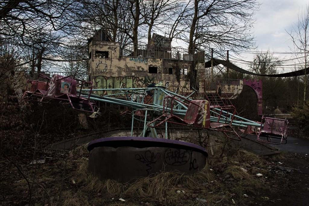 Dadipark Parc d'attraction abandonné