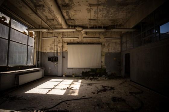 Université abandonnée Val Benoit