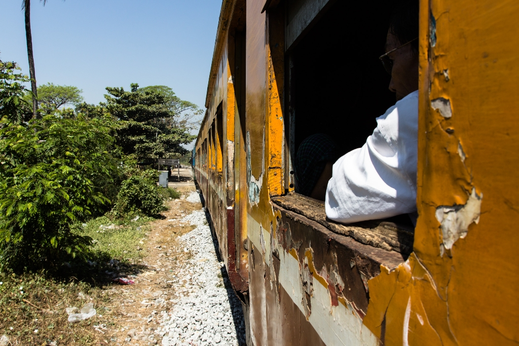 Train Yangon
