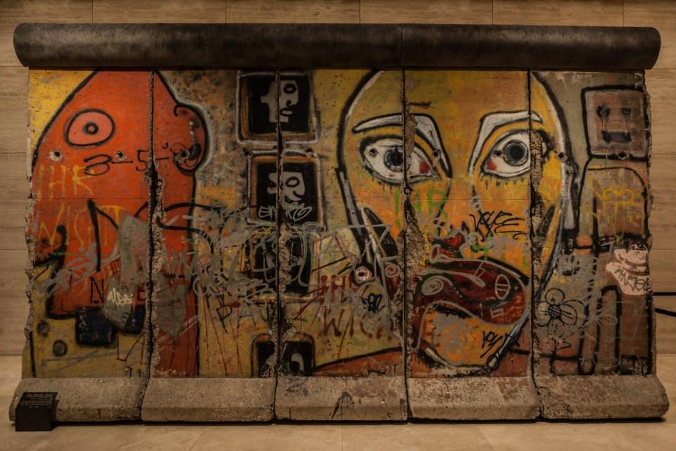 Mur de Berlin à New York
