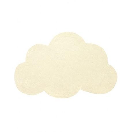 tapis nuage jaune pastel lilipinso